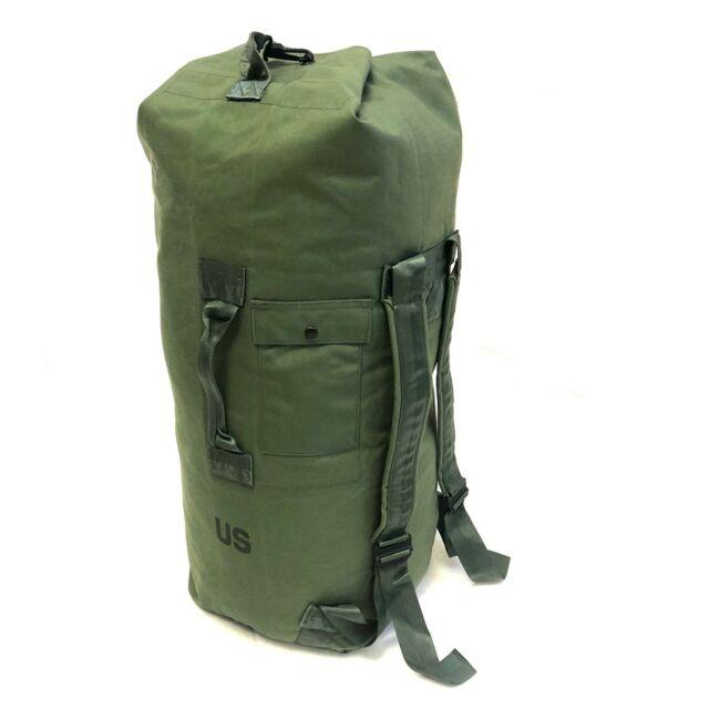 USGI Issue 8465-01-117-8699 EXE OD Green US Army Military Nylon Duffel Sea Bag