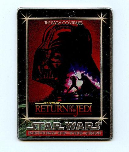 Star Wars Return of the Jedi Metal promo P3 Card from 1995 Metallic Impressions
