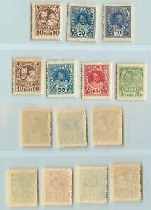 Russia-USSR-1926-SC-B48-B49-B50-B51-B52-B53-MNH-g204