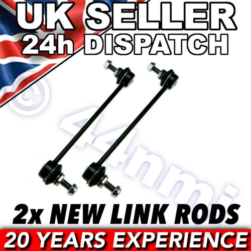 RENAULT LAGUNA 2 00 FRONT ANTI ROLL DROP LINK RODS x 2