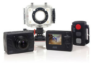 HD-Sports-Action-Camera-IP68-Waterproof-1080p-DVR-175-Wide-Lens-with-3-Mounts