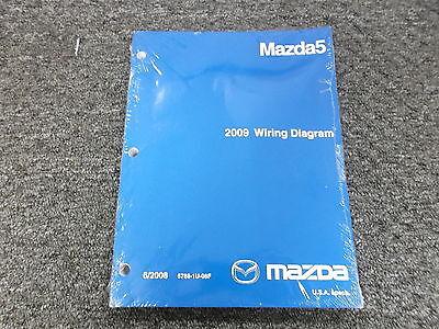 2009 Mazda 5 Mazda5 Factory Original Electrical Wiring ...
