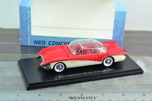 NEO 43845 1956 Buick Centurion voiture XP-301 échelle 1/43