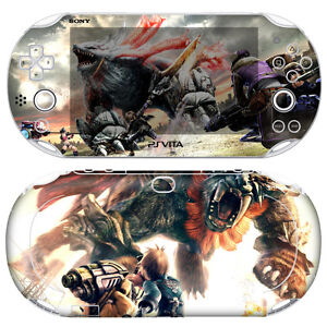 Skin-Decal-Sticker-For-PS-Vita-Slim-PCH-2000-Series-God-Eater-2-01-Free-Gift