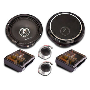 CT Sounds Strato Pro Audio 6.5 Car Component Speakers 2 Way Full Range PA Set