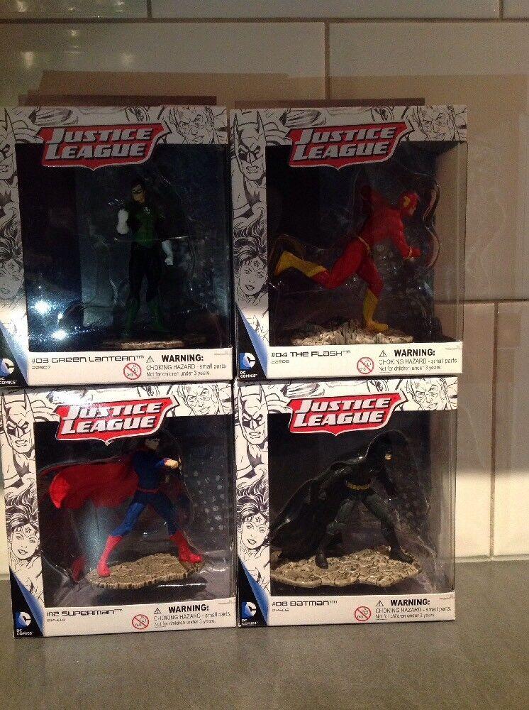 Schleich Dc Comics Justice League Batman Superman Grün Lantern Flash Figures