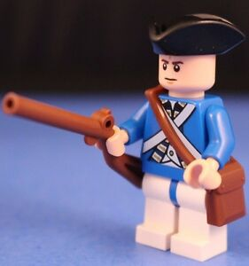 LEGO® brick AMERICAN REVOLUTION custom American RIFLEMAN Minifigure Version 1