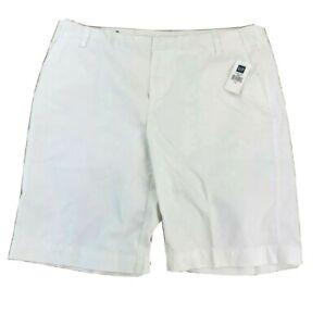 Gap Womens Size 16 XL Bermuda Shorts White Cotton XLarge NEW NWT