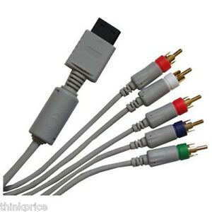 NINTENDO-Wii-GOLD-PLATED-HDTV-COMPONENT-CABLE-AV-LEAD