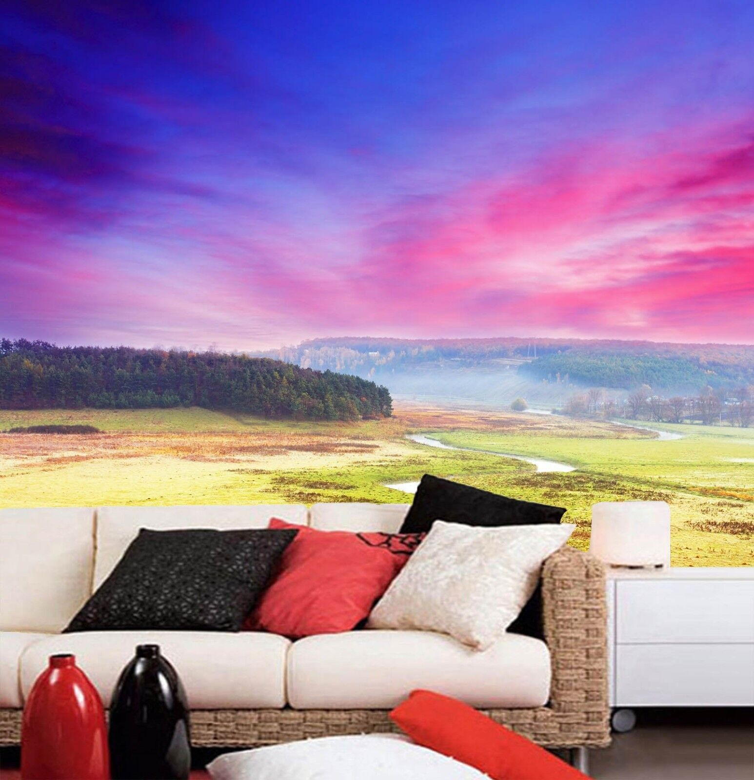 3D Nature Landscape 462 Wall Paper Wall Print Decal Wall Deco Indoor Mural Carly