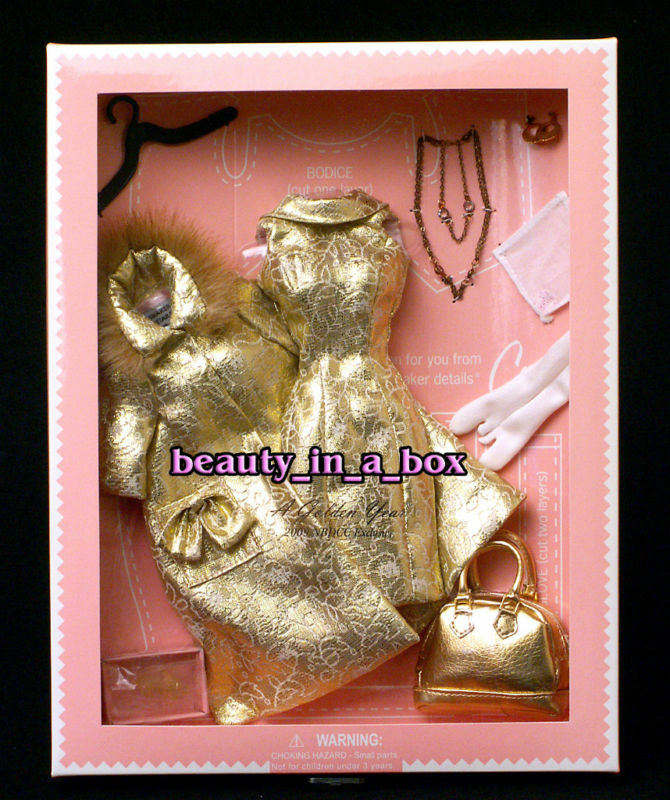 Golden Year Dressmaker Details Couture Fashion for Barbie Doll