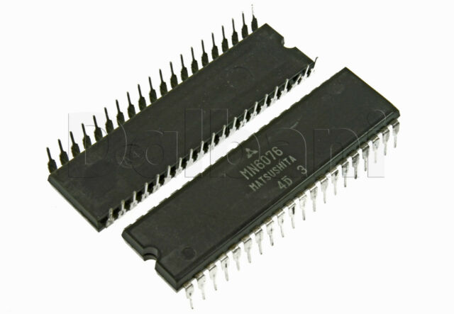 MN6076 Original New Matsushita Digital AC Clock Timer IC  Replaces NTE1414