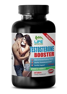 Longjack-Testosterone Booster T742 Sexual Libido Supplements Pills 1Bott 601133649489 eBay