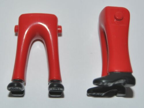 165268 Piernas rojas zapatos negros 2u playmobil,leg