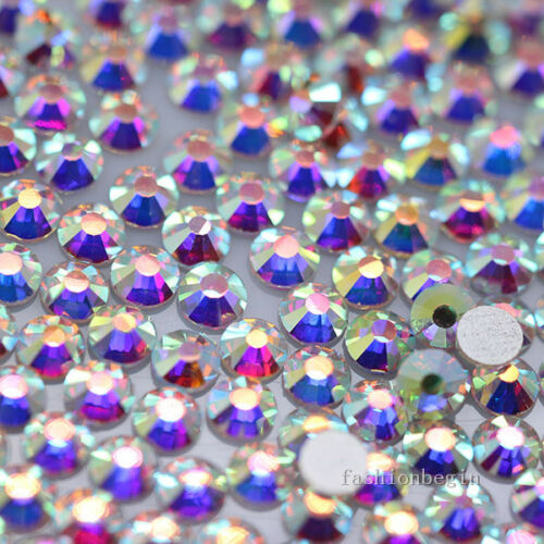 144//1440p ss20 color Crystal Flatback Rhinestone Nail Art Decoration beads craft