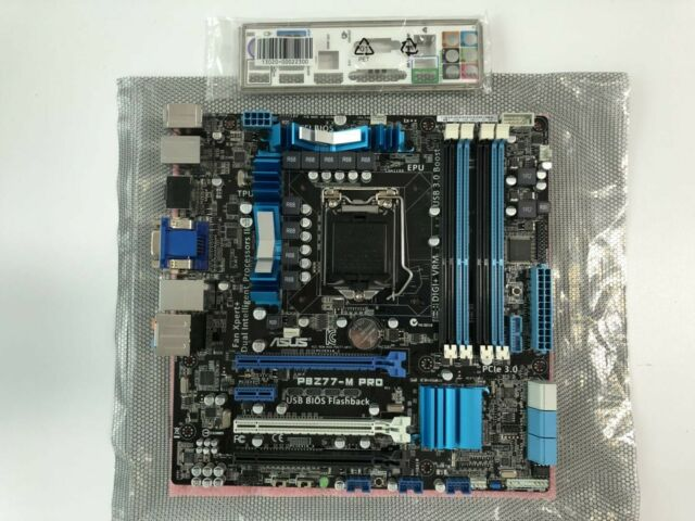 OEM I//O Shield For ASUS P8Z77-V PRO Motherboard Backplate IO