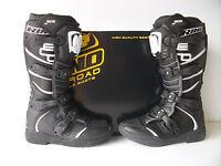 New Rino Black Motocross Enduro Trail Boots CR YZ RM KX CRF KXF RMZ YZF XR DRZ