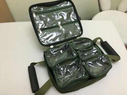 TMC Modular Lead Bag with 5 individual lead pouches 3 internal zip pouches