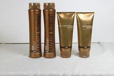 Brazilian Blowout 4 Pack Volume Shampoo, Conditioner, Masque & Balm