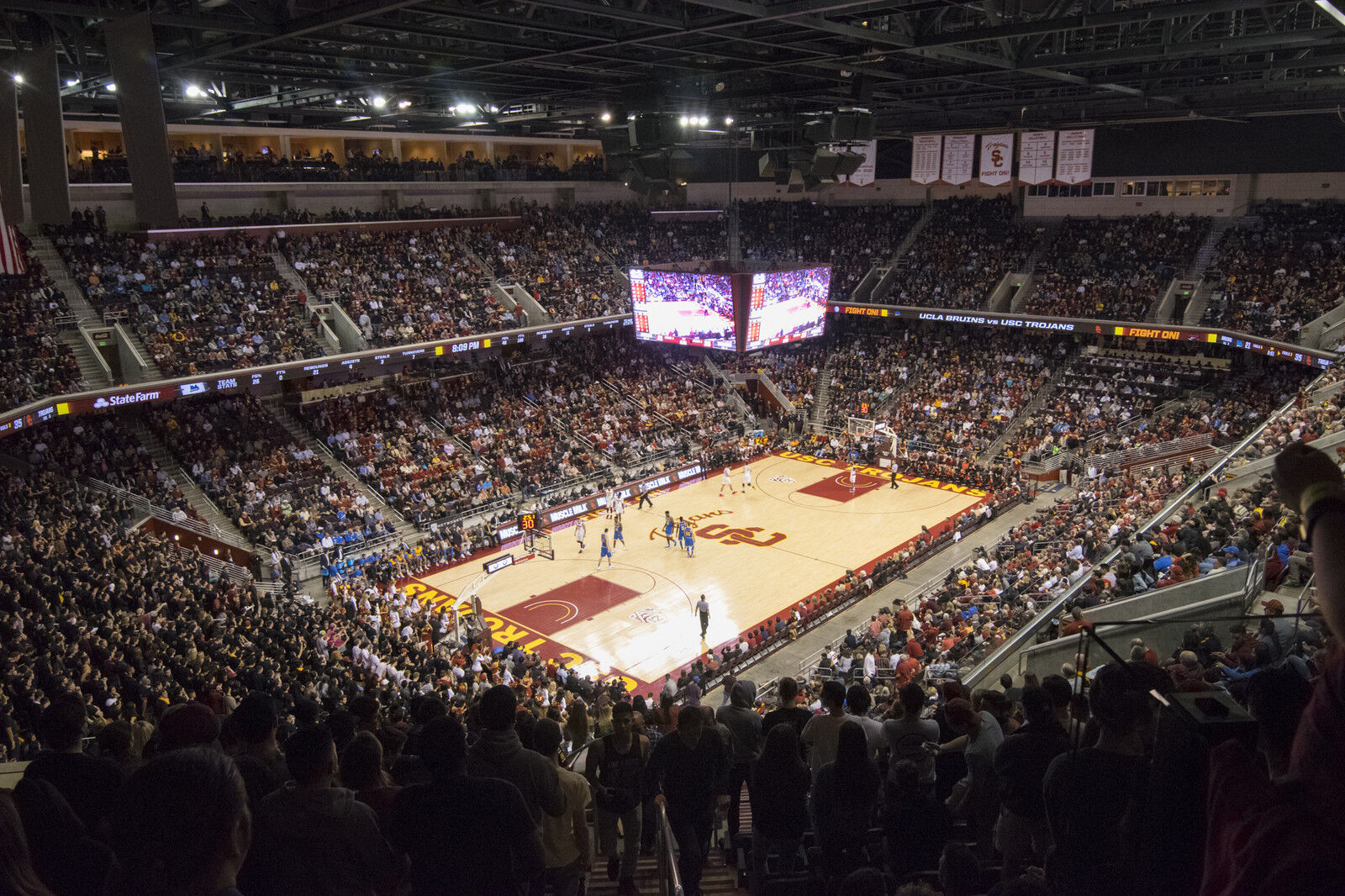 Stanford Cardinal at USC Trojans Basketball