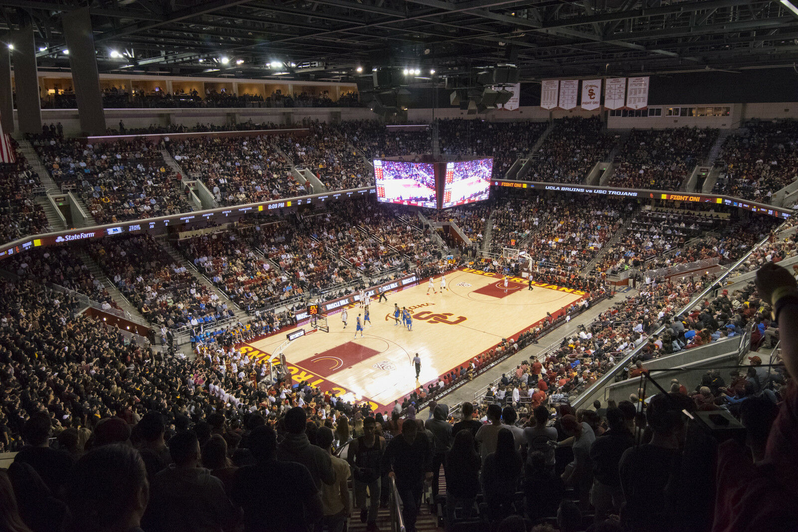 Lehigh Mountain Hawks at USC Trojans Basketball