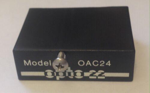 24 VDC Logic OPTO 22 OUTPUT MODULE USPP OAC24 Output 12-140 VAC
