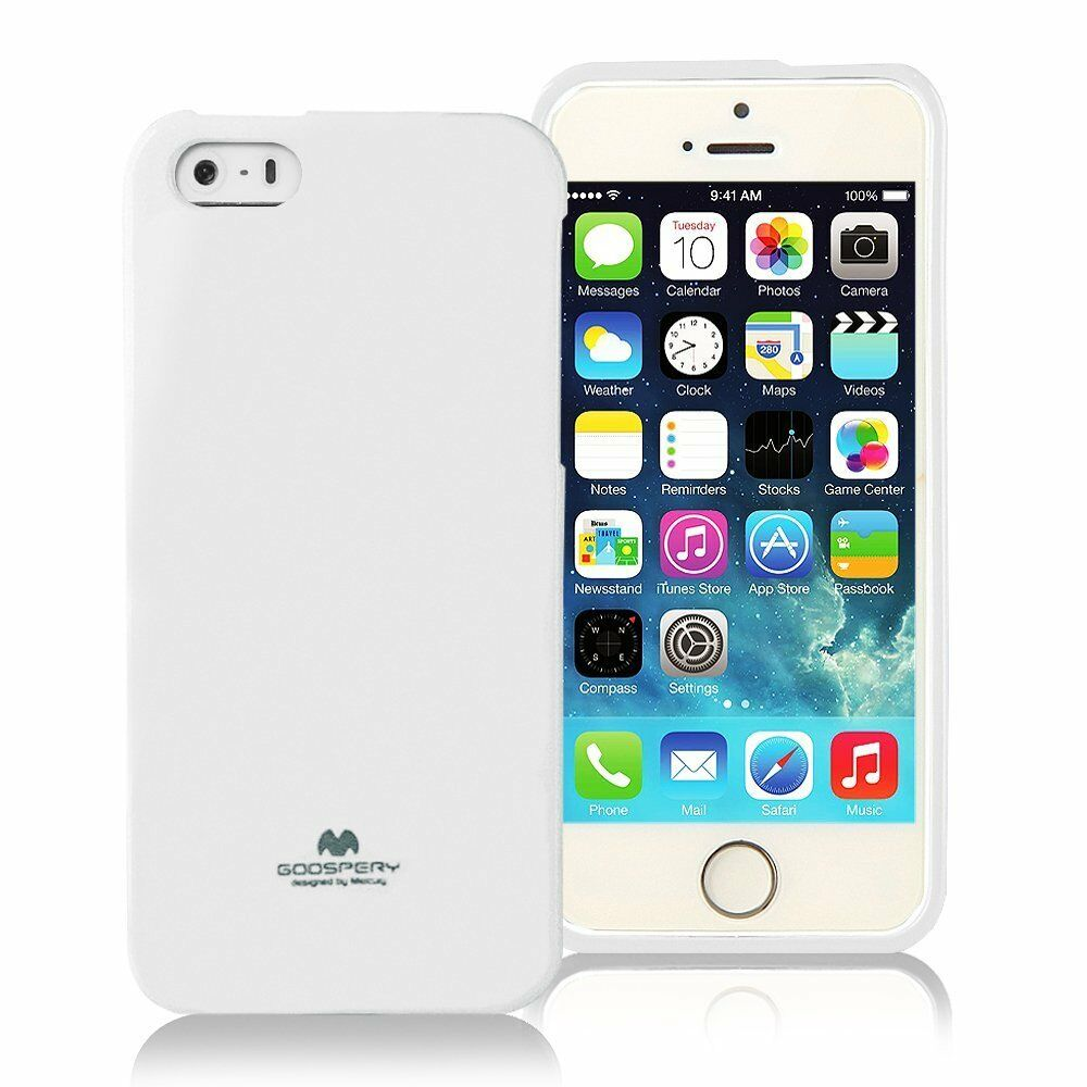 Genuine Mercury Goospery White Soft Jelly Case Cover For Apple Iphone 6 6s Feeling Black Norton Secured Powered By Verisign