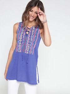 Tee-shirt long sans manches imprimé femme Venca - 112214