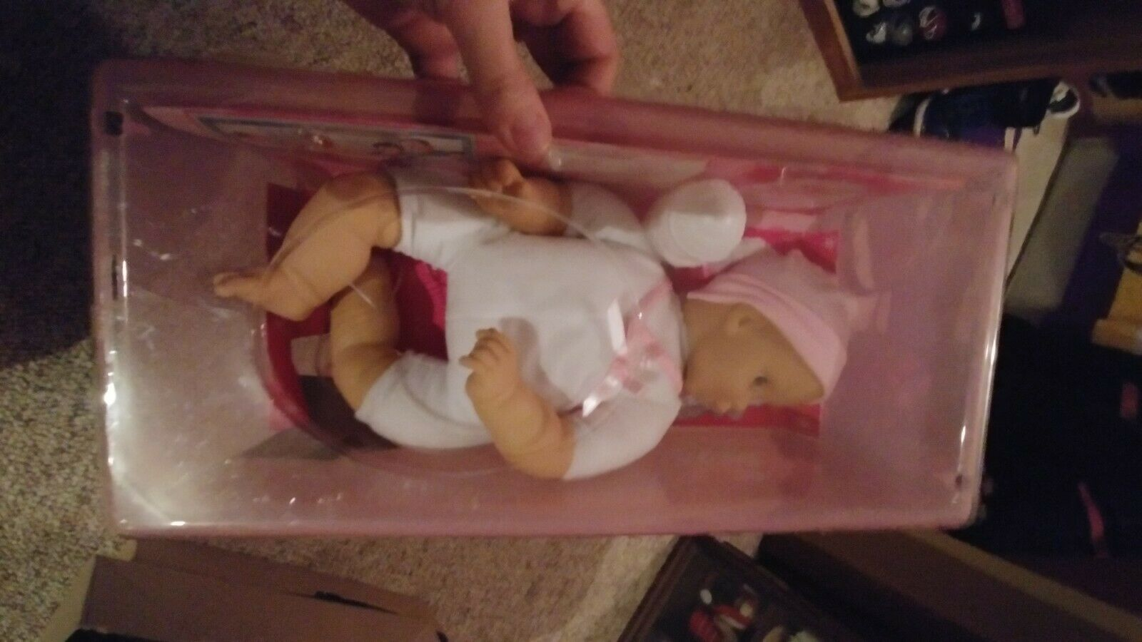 NIB BABY I'M YOURS 15  BABY DOLL Nursey Very Nice vintage doll. New Condition
