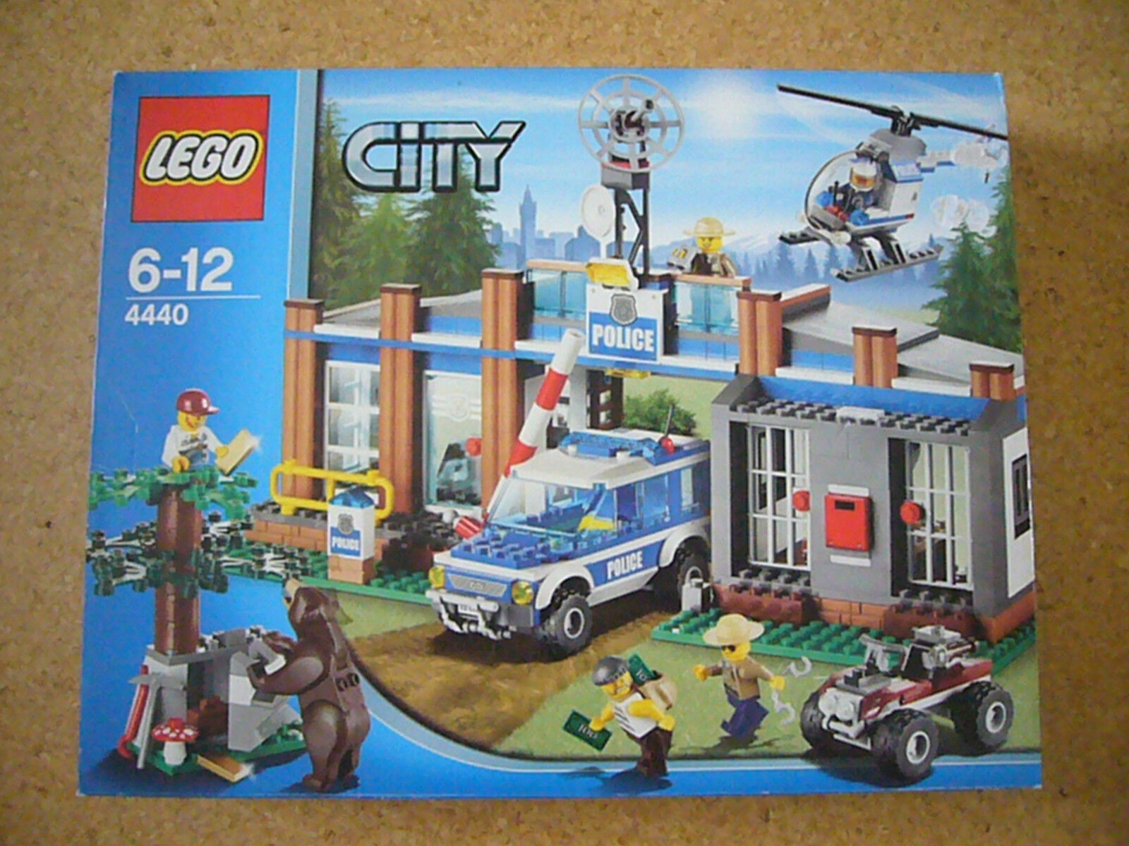 LEGO (R)   City   Mega - Set  4440   6 - 12 Jahre  NEU  OVP  --  Rarität