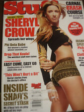march 2002 #28 Stuff Sheryl Crow on cover + Kate Dobo