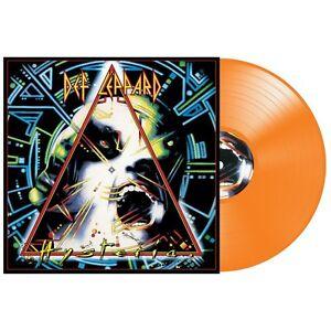 Def Leppard Hysteria 30th Anniversary Orange Colored