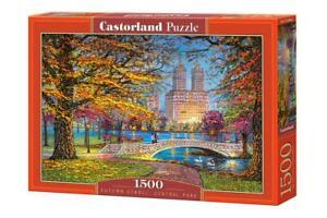 Castorland 1500 Piece Jigsaw Puzzle AUTUMN STROLL, CENTRAL PARK