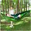 Portable Camping Hamac tente Parachute avec moustiquaire Tree Outdoor 1//2 personne