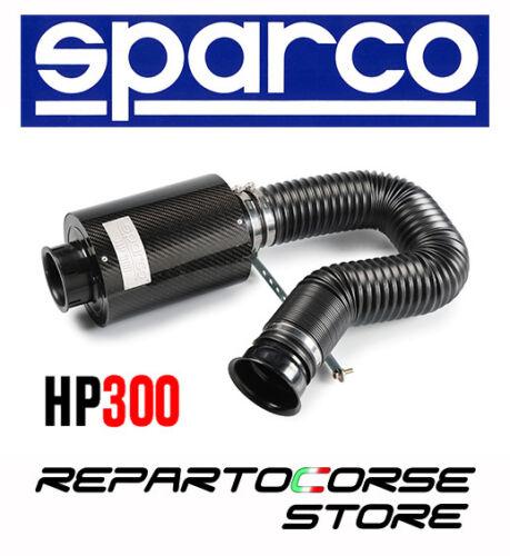 030HP300 ASPIRATION DIRECT FILTRE À AIR SPARCO HP300 FIBRE CARBONE