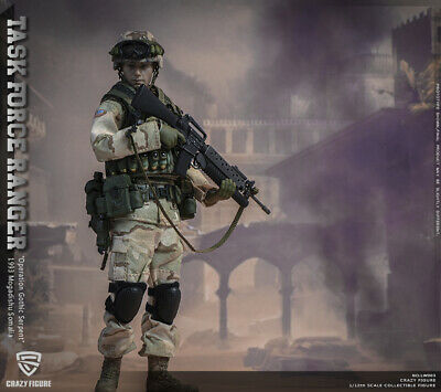 CrazyFigure LW003 1//12 US Military 75th Rangers Regiment Grenadier Body /& Hands