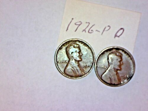 1926-P /& 1926-D LINCOLN CENT