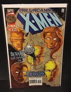 UNCANNY-X-MEN-332-1st-Appearance-OZYMANDIAZ-Apocalypse-Marvel-Comics-1996-FN