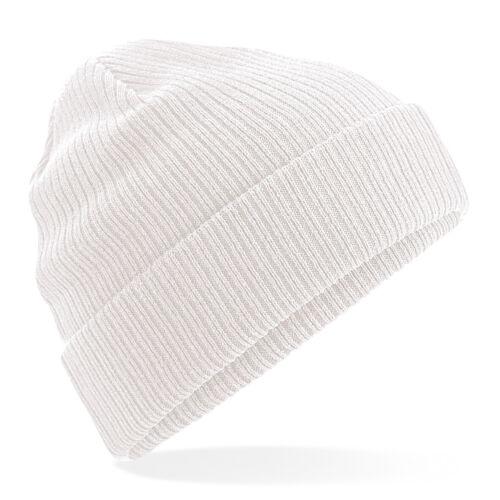Unisex Cotton Casual Winter Hat B50 Beechfield Organic Cotton Beanie