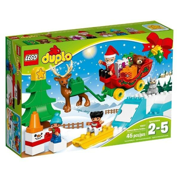 LEGO 10837 -  DUPLO Town Santa's Winter Holiday - Hoiday Set - NEW
