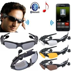 Universal Smart Wireless Bluetooth Sunglasses V4.1  MP3 Player Stereo Headphone