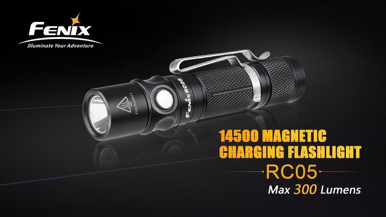 Fenix Cree XP-G2 R5 USB Aufladbar Led 300 Lumen Wasserfest Flashlight- FX-RC05