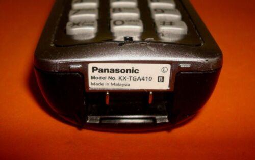 KX-TGA410B OEM PANASONIC HANDSET WITH BATTERIES ONLY FOR KX-TG4131 SERIES F2.3