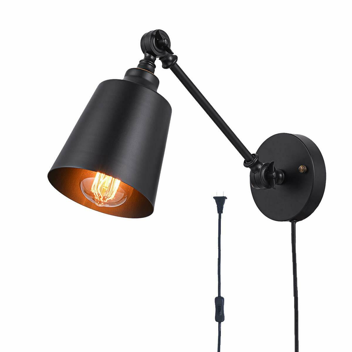 Image of: Exterior Wall Light Fixture Outdoor Lamp Coach Electrical Plug In Outlet Black For Sale Online Ebay