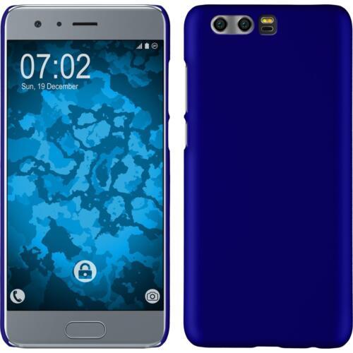 Funda Rígida Huawei Honor 9 goma azul protector de pantalla
