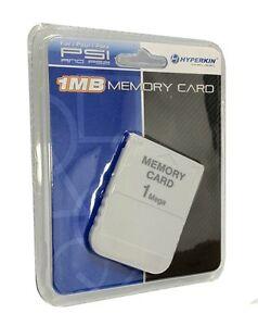 Discipliné Carte Mémoire 1 Mo Pour Playstation 1 Ps1 Psx Game (factory Sealed)-afficher Le Titre D'origine
