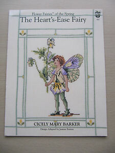 Flower-Fairies-of-The-Spring-Large-Cross-Stitch-Chart-The-Heart-039-s-Ease-Fairy-652