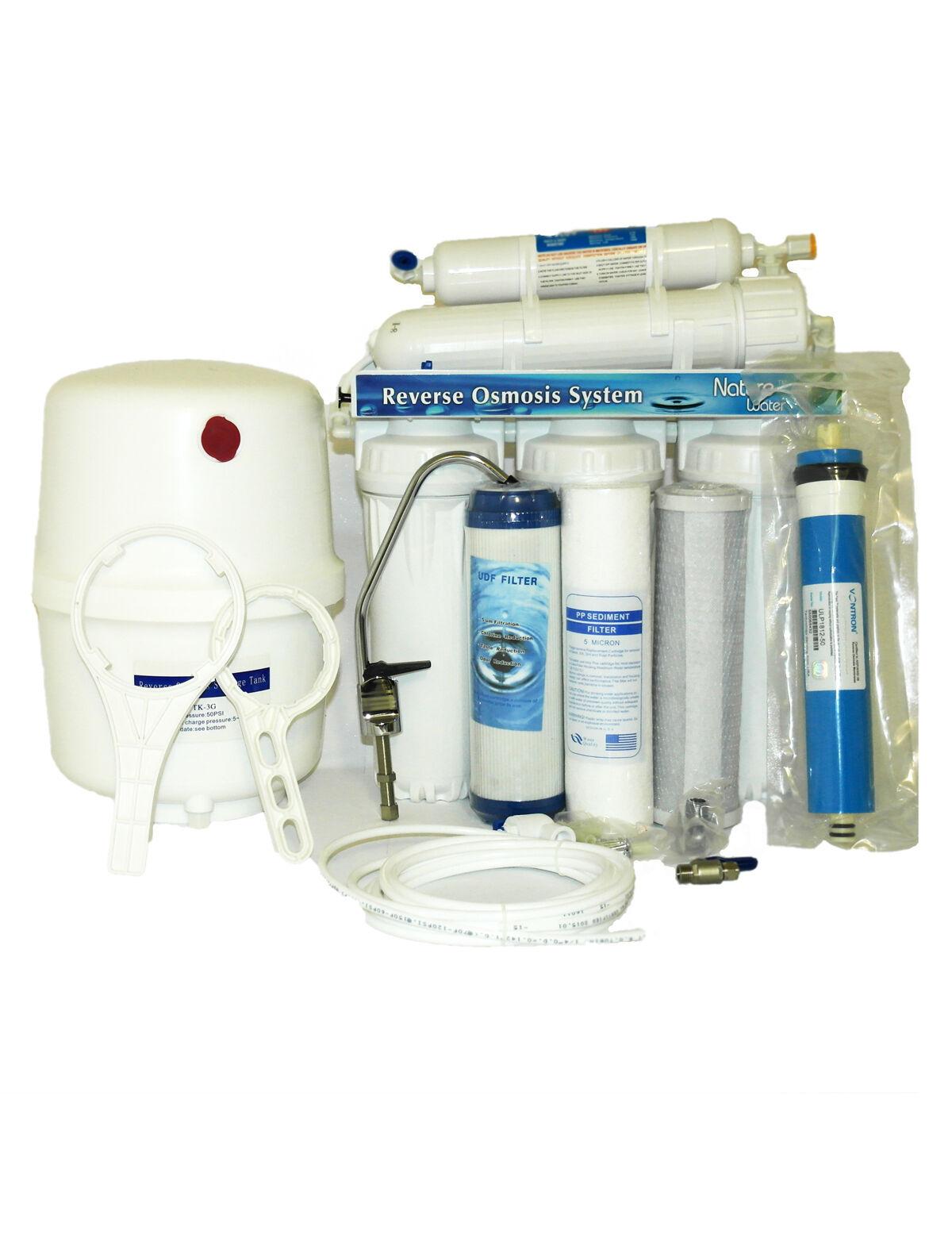 5 niveaux système osmose inverse insTailletion Filtre A Eau Filtre robinet