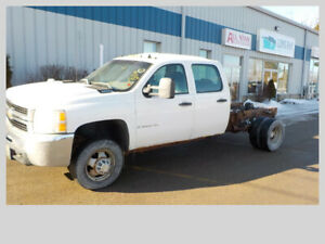2008 CHEVROLET 3500 CAB & CHASSIS DURAMAX DIESEL RWD