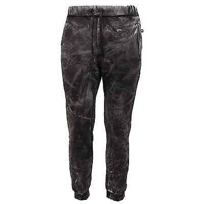Kleidung & Accessoires 9302q Pantalone Uomo Loft 1 Tokyo Plus Nero/grigio Pant Trouser Men üBerlegene Leistung
